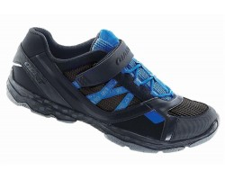 Chaussures Giant Sojourn 1X Road noir/bleu