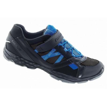 Chaussures Giant Sojourn 1X Road noir/bleu
