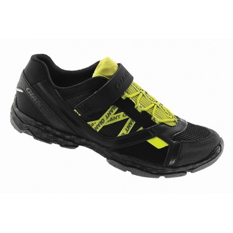 Chaussures Giant Sojourn 1X Road noir/jaune