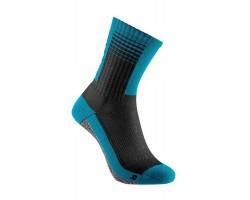 Chaussettes Transcend noir/bleu