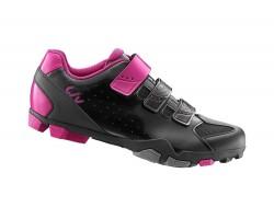 Chaussures LIV fera noir/fuchsia