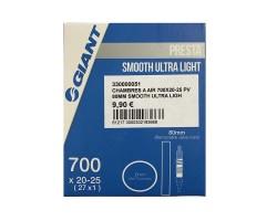 Chambre à air 700X20-25 PV 80MM SMOOTH ULTRA LIGHT