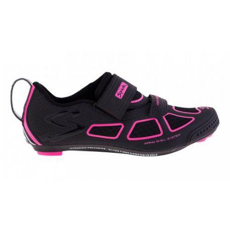 Chaussures Spiuk Trivium noir/fuschia
