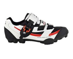 Chaussures VTT Spiuk ZS11M blanche/rouge