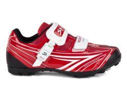 Chaussures VTT Spiuk Risko rouge