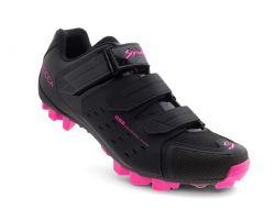 Chaussures Spiuk Rocca noire/fuschia