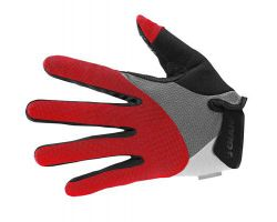 Gants longs Streak gel rouge Giant