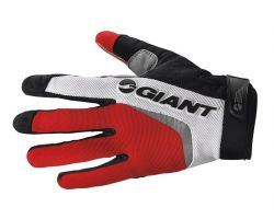 Gants longs Horizon rouge Giant
