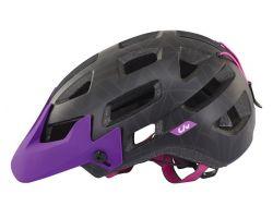 Casque Infinita noir/violet Liv