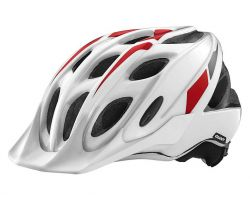 Casque Exempt blanc/rouge Giant