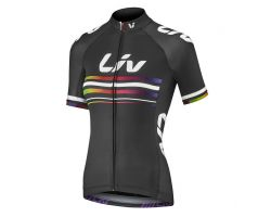 Maillot MC Race Day customize noir Liv