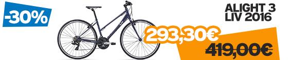 -30% sur une selection de vélos Giant et Liv gamme 2016 , promotion Giant Liv Talon Defy Escape Alight Roam Full-E