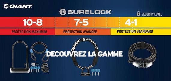 Decouvrez notre gamme d'antivol Giant dans notre store Giant Caen et sur notre site www.velocity.fr
