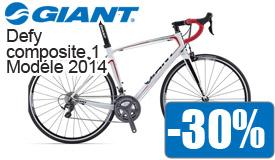 Destockage Giant composite 1 modéle 2014 en promotion -30%