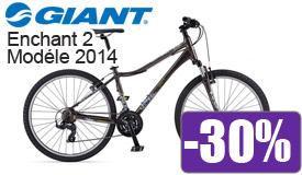 Destockage Giant Enchant 2 modéle 2014 en promotion -30%