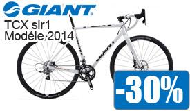 Destockage Giant Tcx Slr1 modéle 2014 en promotion -30%