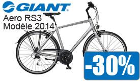 Destockage Giant Aero RS3 modéle 2014 en promotion -30%