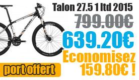 Profitez de notre offre de destockage Giant 2015 de 20 a 30% de remise sur une selection de vélo. Talon 27.5 1 LTD Giant sur notre site velocity.fr et notre store Giant Caen