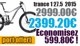 Profitez de notre offre de destockage Giant 2015 de 20 a 30% de remise sur une selection de vélo. Trance 1 2015 Giant sur notre site velocity.fr et notre store Giant Caen