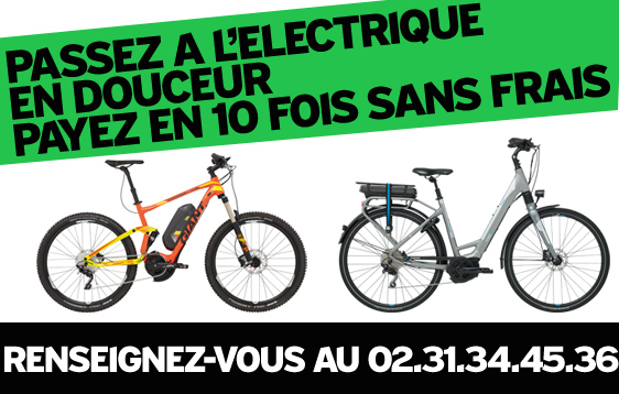 Passez a l'electrique en douceur, payez en 10 fois sans frais dans notre giant store caen, uniquement sur la gamme vélo assistance electrique Giant 2016
